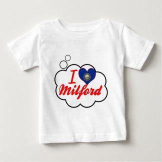 I Love Milford, New Hampshire Tshirt