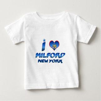 I love Milford, New York T-shirt