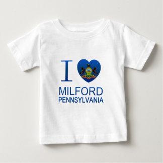 I Love Milford, PA Tee Shirts