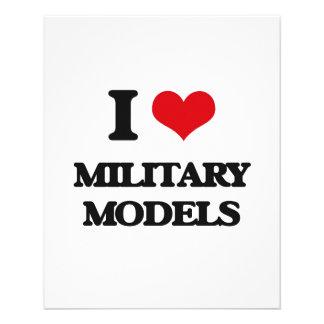 I Love Military Models Flyer