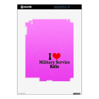 I love Military Service Rifle iPad 2 Skin
