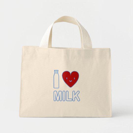 I Love Milk Bag