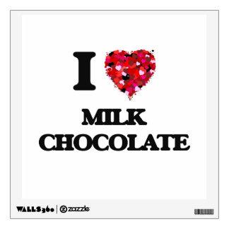 I Love Milk Chocolate Wall Graphic