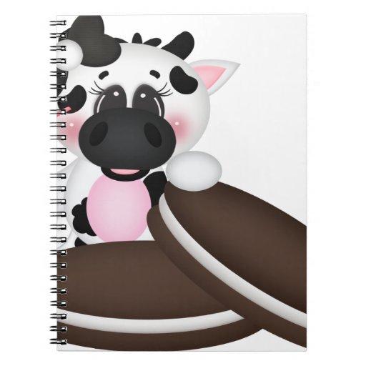 I Love Milk Cow Journals