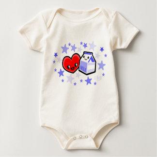 I LOVE MILK for boys Baby Bodysuit