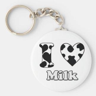 I love Milk Keychain