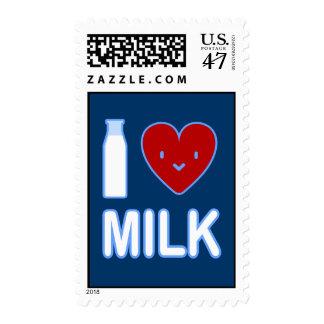 I Love Milk Postage
