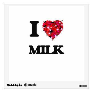 I Love Milk Room Decal
