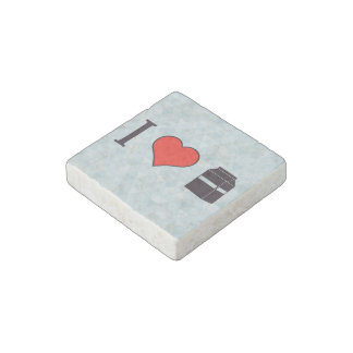I Love Milk Stone Magnet