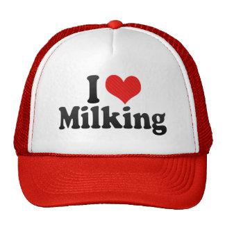 I Love Milking Trucker Hat