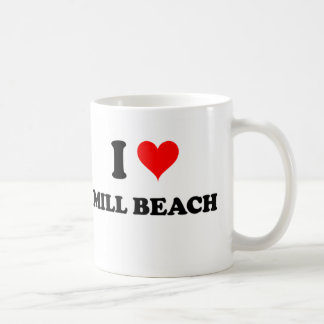 I Love Mill Beach Oregon Classic White Coffee Mug