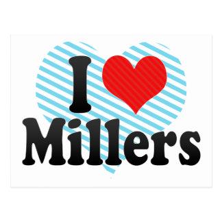 I Love Millers Postcard