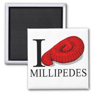 I Love Millipedes Magnets