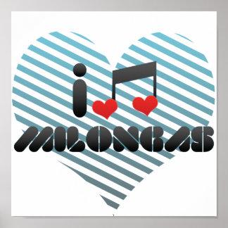 I Love Milongas Posters