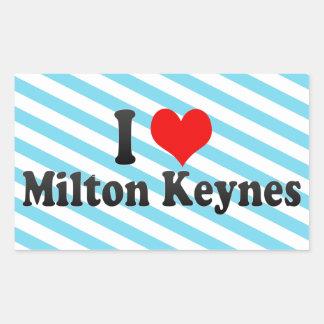 I Love Milton Keynes, United Kingdom Stickers