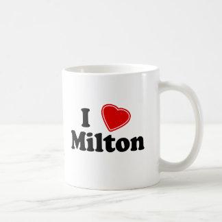 I Love Milton Classic White Coffee Mug