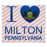 I Love Milton, PA Poster