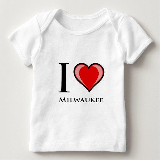 I Love Milwaukee Baby T-Shirt