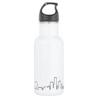 I love Milwaukee in an extraordinary ecg style 18oz Water Bottle