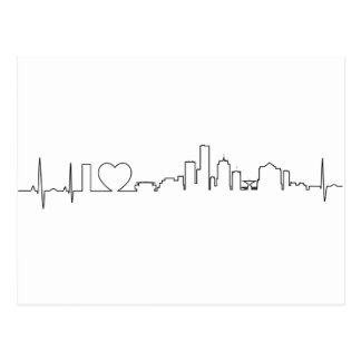 I love Milwaukee in an extraordinary ecg style Postcard