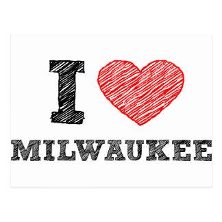 I Love Milwaukee Postcard