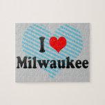 I Love Milwaukee, United States Jigsaw Puzzle