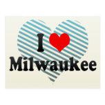 I Love Milwaukee, United States Post Card