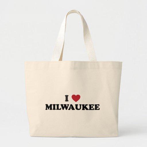 I Love Milwaukee Wisconsin Bag