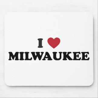 I Love Milwaukee Wisconsin Mouse Pad
