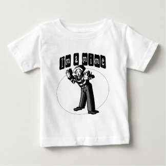 I Love Mimes Baby T-Shirt