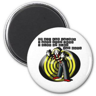 I Love Mimes Magnet