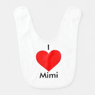 I love Mimi Baby Bib