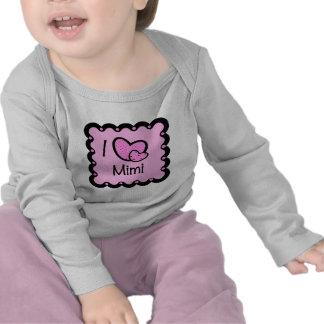 I Love Mimi Cute T-Shirt