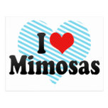 I Love Mimosas Postcards