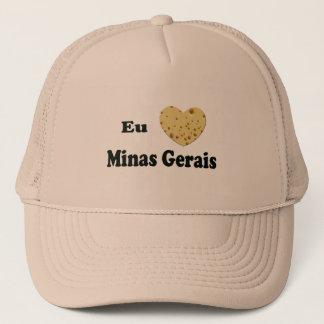 I LOVE MINAS GERAIS TRUCKER HAT