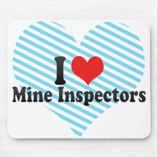 I Love Mine Inspectors Mouse Pad
