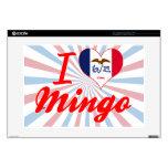 """I Love Mingo, Iowa 15"""" Laptop Skin"""