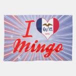 I Love Mingo, Iowa Hand Towels
