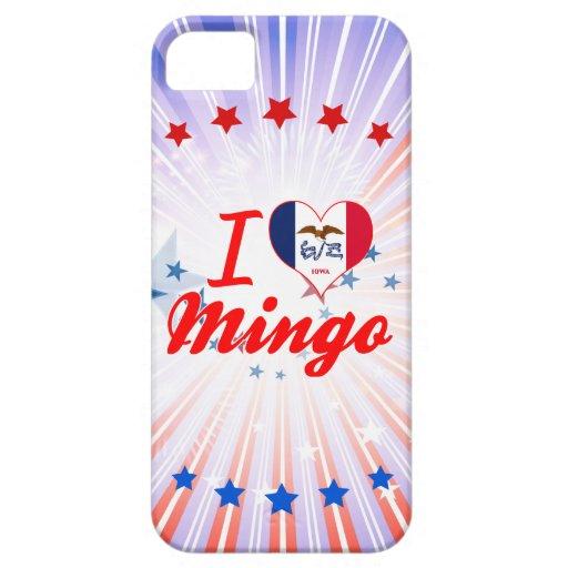 I Love Mingo, Iowa iPhone 5 Cases
