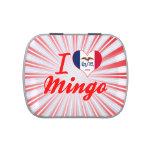 I Love Mingo, Iowa Jelly Belly Candy Tins