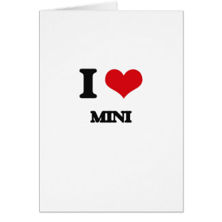 I Love MINI Card