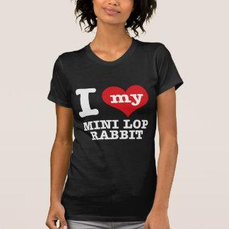 I love MINI LOP RABBIT T-shirt