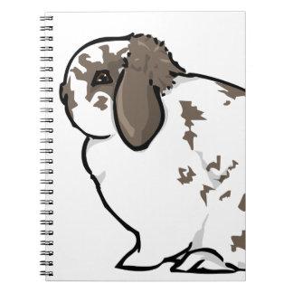 I Love Mini Lop Rabbits Notebooks