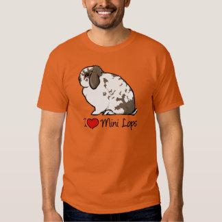 I Love Mini Lop Rabbits T-Shirt