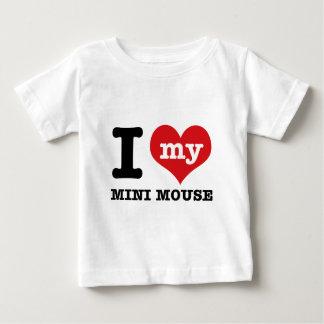 I love MINI MOUSE Baby T-Shirt