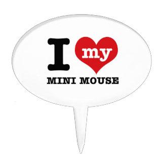 I love MINI MOUSE Cake Toppers