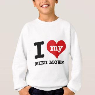 I love MINI MOUSE Sweatshirt
