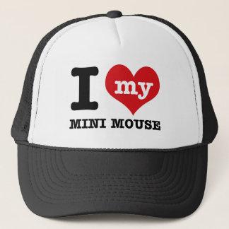 I love MINI MOUSE Trucker Hat
