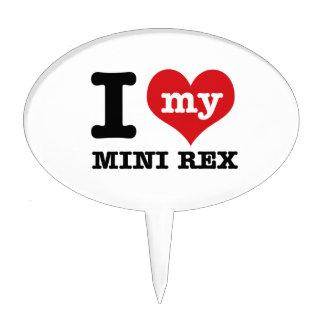 I love MINI REX Cake Picks
