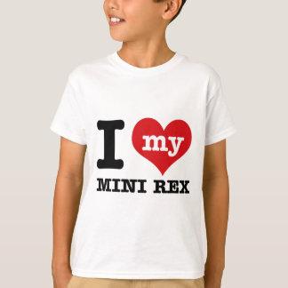 I love MINI REX T-Shirt